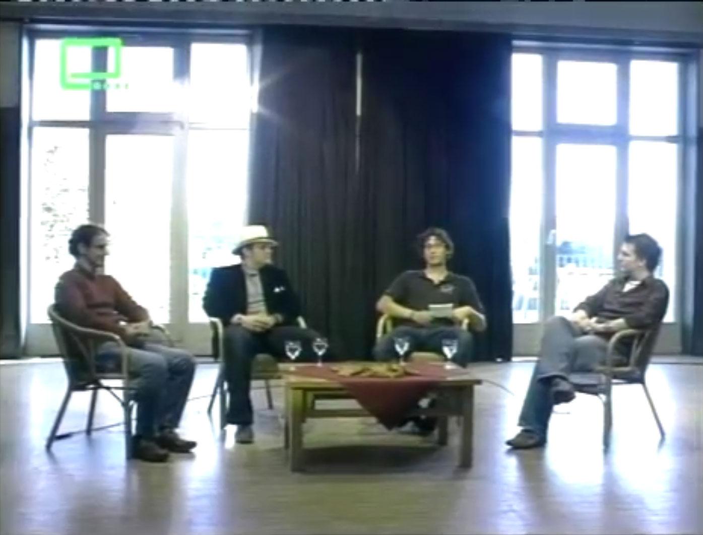 Ein Screenshot aus der Moderation der ersten Promenade-Folge von 2007