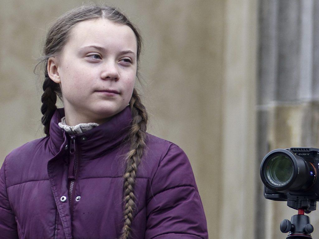 Greta Thunberg bei Fridays for Future in Berlin. Foto: r-mediabase.eu/Rudi Denner