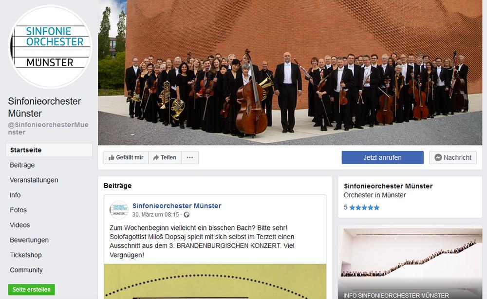 Kurze Schmankerl vom Sinfonieorchester Münster